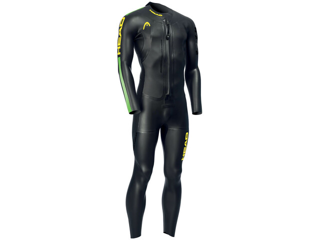 Head Swimrun Race 6.4.2.1,5 Wetsuit Men, black/brasil